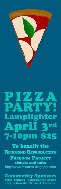 Pizza party poster copy